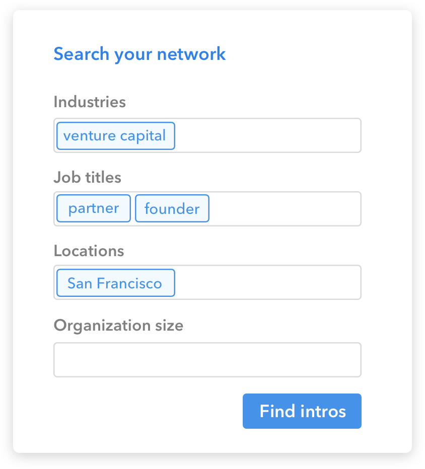 Network Search