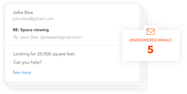 Unanswered Emails Real Estate